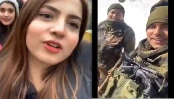 بھارتی فوجی جوانوں کی 'پاوری ویڈیو' وائرل
