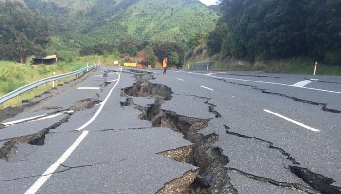 نیوزی لینڈ میں 5.1شدت کا زلزلہ