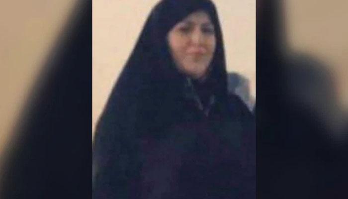 ایران، مردہ خاتون کو