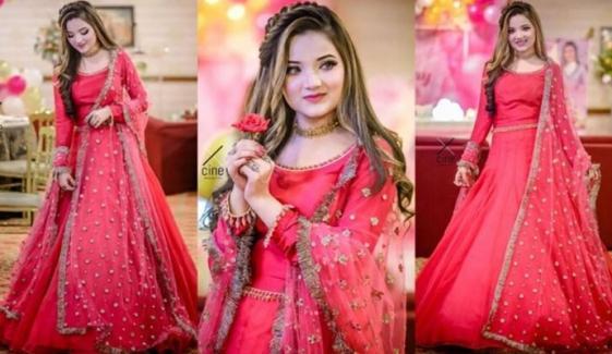 سوشل میڈیا اسٹار ربیکا خان کا پہلا گانا چھاگیا