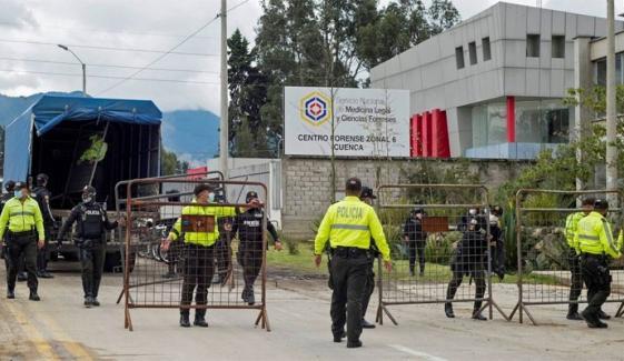 ایکواڈور: 3جیلوں میں فسادات، 75 قیدی ہلاک