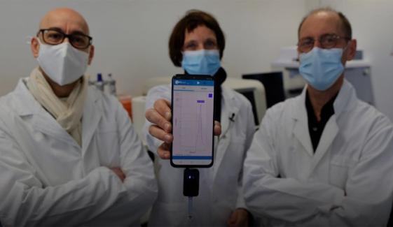 فرانس میں تیز اور باآسانی نتائج دینے والے کوویڈ ٹیسٹ کی تیاری