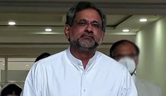 احتساب کا ادارہ آج خود قابل احتساب ہے،شاہد خاقان عباسی