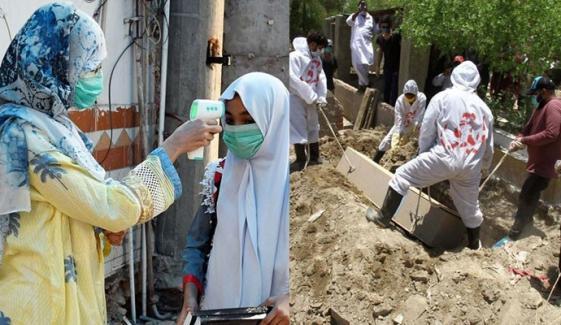 پاکستان: کورونا وائرس سے 24 گھنٹوں میں 64 ہلاکتیں