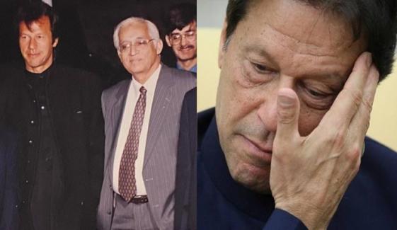 عمران خان پرانے ساتھی کے انتقال پر رنجیدہ