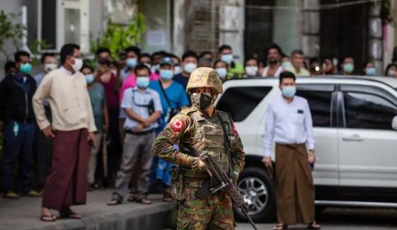 میانمار کی فوج کے فیس بُک اکاؤنٹس پر پابندی لگ گئی