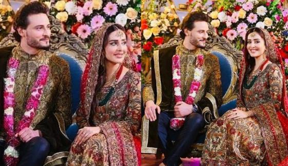عثمان خالد بٹ نے سدرہ نیازی سے شادی کر لی؟