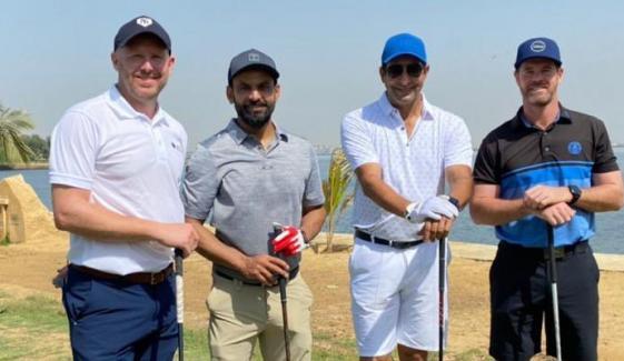 پی ایس ایل6، ملکی اور غیر ملکی کرکٹرز گالف کھیلنے لگے