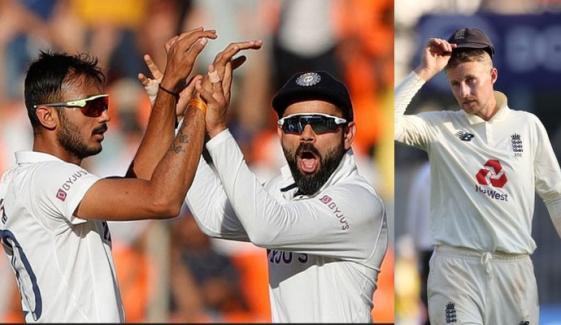 بھارت کے ہاتھوں شکست، انگلینڈ ٹیسٹ چیمپئن شپ کے فائنل کی دوڑ سے باہر
