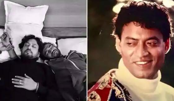 عرفان خان کے بیٹے کو والد کی یاد ستانے لگی