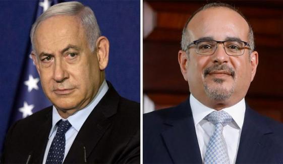بحرینی ولی عہد اور اسرائیلی وزیر اعظم میں رابطہ