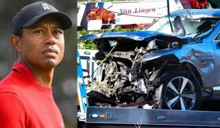 ٹائیگر ووڈز کی کار کیسے خطرناک حادثے کا شکار ہوئی؟