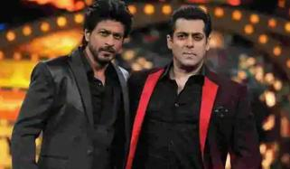 شاہ رخ اور سلمان ایک مرتبہ پھر فلم سیٹ پر ایک ساتھ