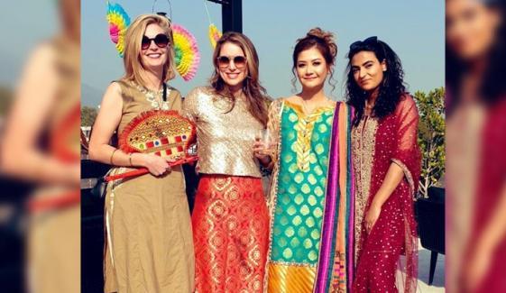 جرمن سفیر پاکستانی شادیوں سے محظوظ