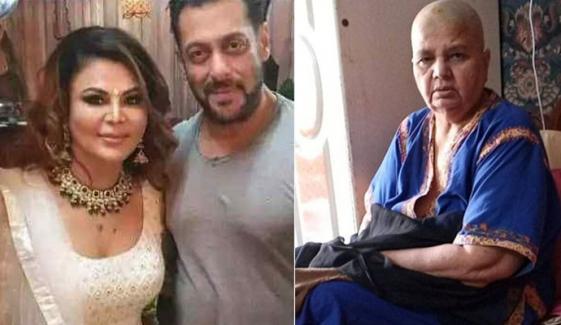 راکھی کی والدہ کا سلمان خان کیلئے جذباتی پیغام