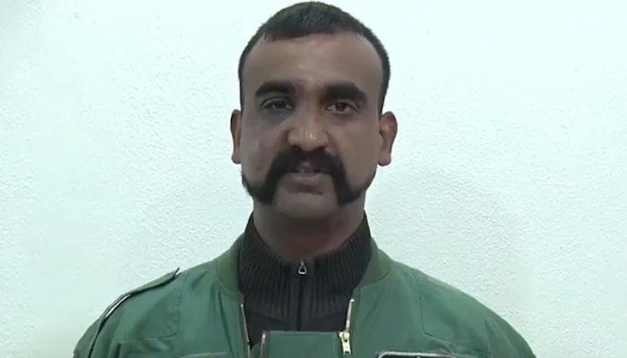 کشمیر کے ساتھ کیا ہورہا ہے کسی کو نہیں پتہ، گرفتار پائلٹ ابھی نندن کا پیغام