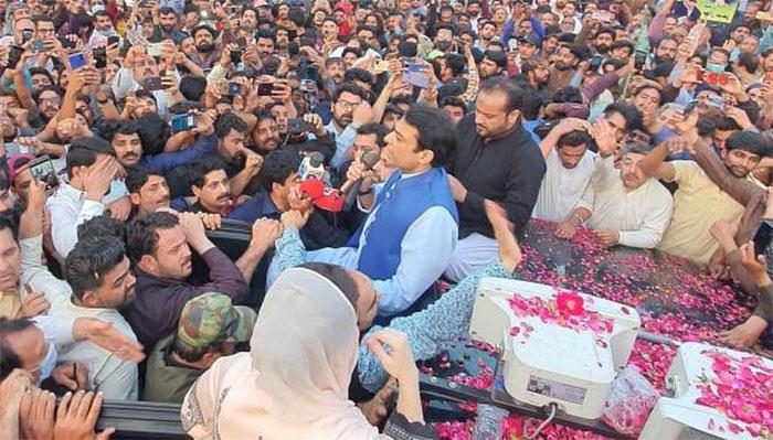 اللہ کی لاٹھی بے آواز ہے، عمران خان آپ کا یوم حساب شروع ہوگیا،حمزہ شہباز