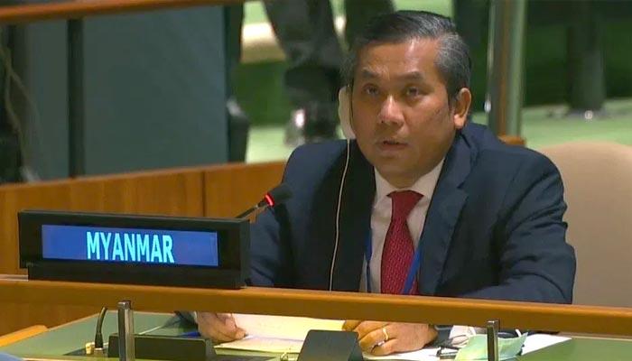 اقوام متحدہ میں میانمار کے سفیر عہدے سے برطرف