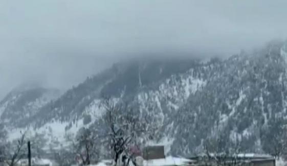 بالائی علاقوں میں بارش اور برفباری، نظام زندگی متاثر