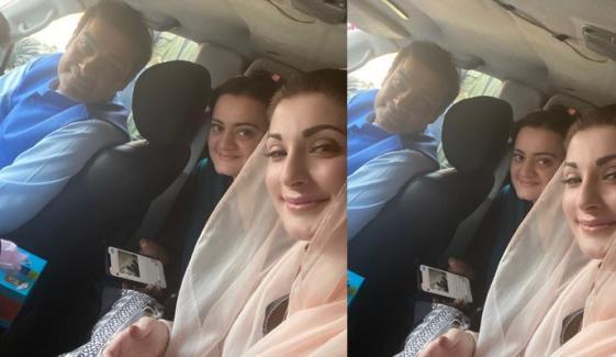 مریم نواز نے حمزہ شہباز کے ساتھ تصویر شیئر کردی