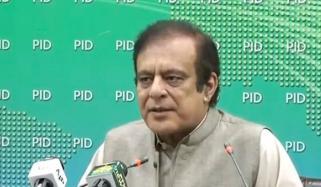 الیکشن کمیشن کے خلاف احتجاج کرنے والے آج اس کے حامی بن گئے، شبلی فراز
