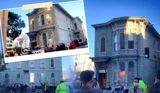 سان فرانسسکو میں 139 سال پرانے مکان کو منتقل کردیا گیا
