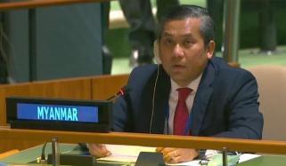 اقوامِ متحدہ میں میانمار کے سفیر عہدے سے برطرف