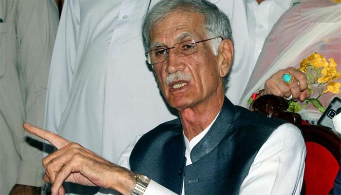 نوشہرہ کا ضمنی الیکشن ن لیگ نے جیتا نہیں چوری کیا ہے ، پرویز خٹک