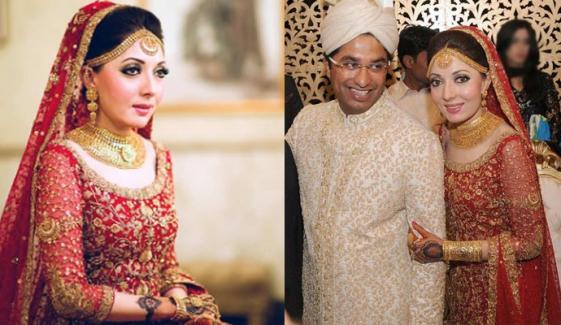 شرمیلا فاروقی کی شادی کو 6 برس مکمل