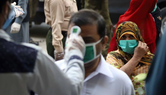 بلوچستان میں کوروناوائرس کےکیسز کی شرح 1.04فیصد