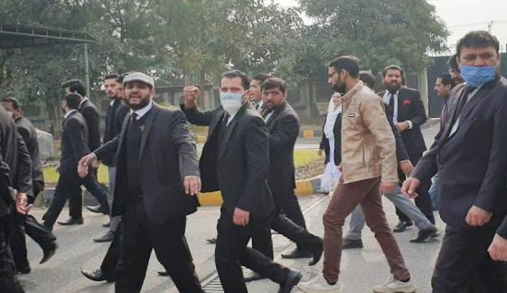 ہائیکورٹ حملہ کیس، گرفتار وکلا کے جوڈیشل ریمانڈ میں توسیع