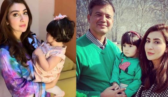 عائشہ خان کی نئی فیملی فوٹو