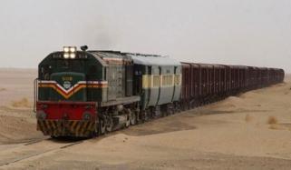 انٹرنیشنل گڈز ٹرین 12 سال بعد بحال