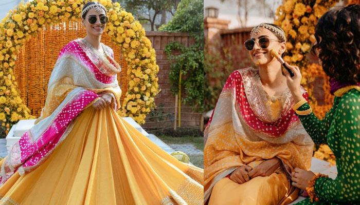 خوبرو اداکارہ رحمت اجمل کی شادی کی تقریبات کا آغاز ہوگیا
