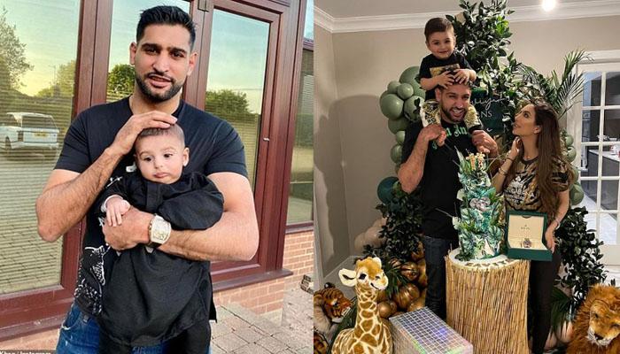 باکسر عامر خان کا بیٹے کی پہلی سالگرہ پر قیمتی گھڑی کا تحفہ