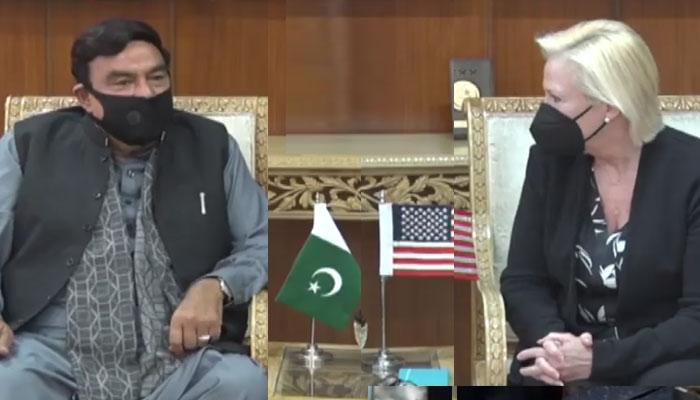 قائم مقام امریکی سفیر کی وزیر داخلہ سے ملاقات