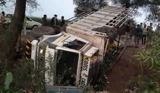 بھارت ، کوئلے سے بھرا ٹرک الٹنے سے 6 افراد ہلاک