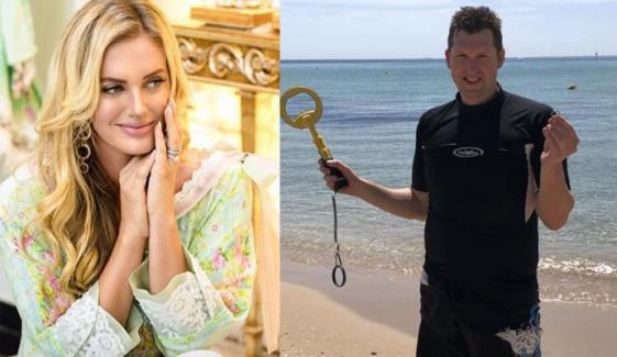 شنیرا کے کزن نے 5 ہفتے بعد سمندر سے اپنی شادی کی انگوٹھی ڈھونڈ لی؟