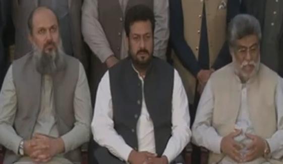 سردار خان رند کا سینیٹ الیکشن سے دستبرداری کا اعلان