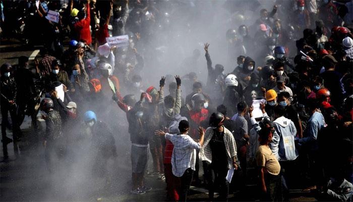 میانمار: احتجاج کرنے والوں پر سیکیورٹی فورسز کی فائرنگ، 18 افراد ہلاک, متعدد زخمی