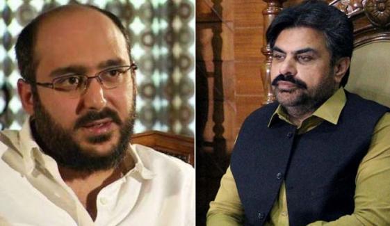 ناصر شاہ اور علی حیدر کی مبینہ آڈیو ٹیپ بھی سامنے آگئی