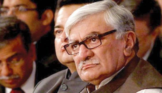 اسفندیار ولی خان کی یوسف رضا گیلانی کو سینیٹر منتخب ہونے پر مبارکباد