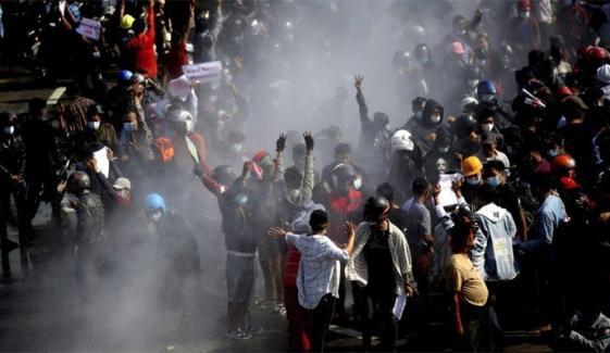 میانمار: مظاہرین پر سیکیورٹی فورسز کی فائرنگ، 18 افراد ہلاک, متعدد زخمی