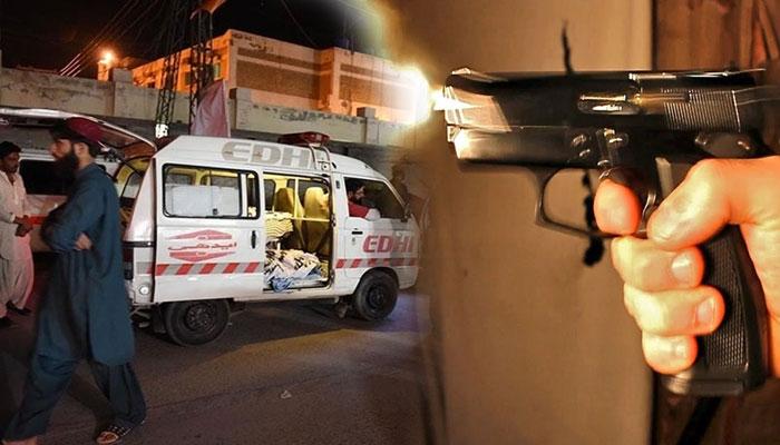 کراچی: فائرنگ سے 1 شخص زخمی، 2 افراد کی خودکشی، لاش برآمد