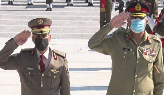 آرمی چیف سے قطری فوج کے سربراہ کی ملاقات