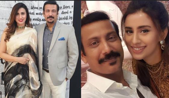 مدیحہ نقوی کی شوہر فیصل سبزواری کو سینیٹر بننے کی مبارکباد