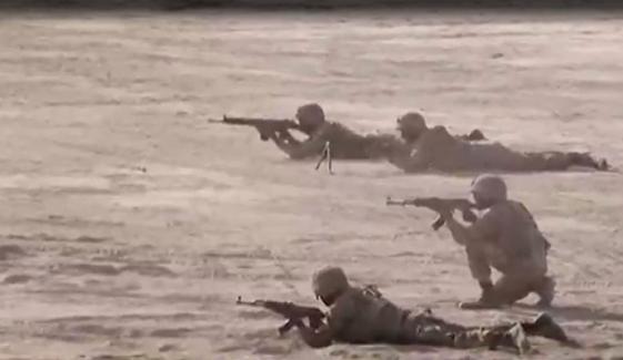 پاک فوج کی سالانہ مشقیں ضرب حدید جاری