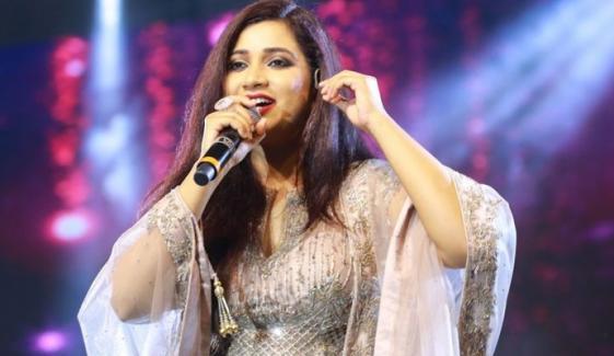 بھارتی گلوکارہ شریا گھوشال کے ہاں جلد ننھے مہمان کی آمد متوقع
