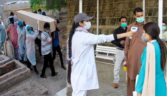 پاکستان: کورونا وائرس سے مزید 63 اموات