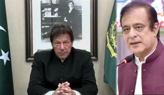 وزیرِ اعظم عمران خان آج شام قوم سے خطاب کریں گے: شبلی فراز